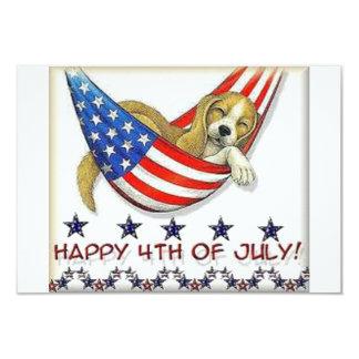 Happy 4th jULY invitation