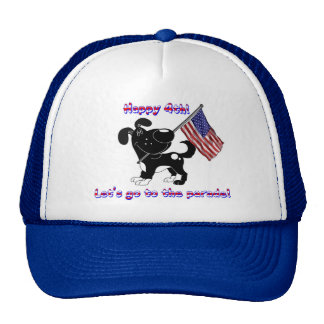 Happy 4th! Let's go to the parade! Mesh Hats
