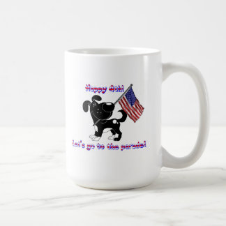 Happy 4th! Let's go to the parade! Mug
