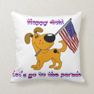 Happy 4th! Let's go to the parade! Pillow