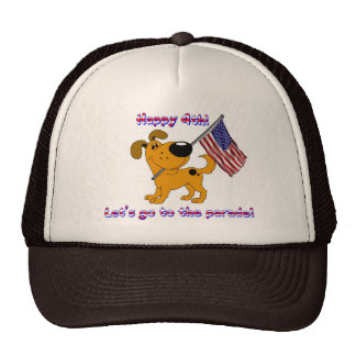 Happy 4th! Let's go to the parade! Trucker Hat