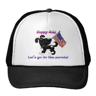 Happy 4th! Let's go to the parade! Trucker Hats