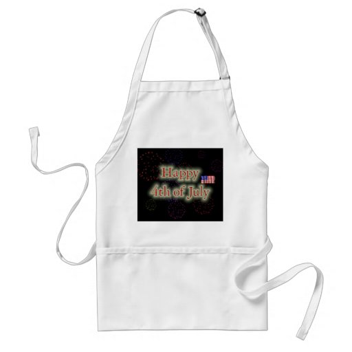 Happy 4th Of July Adult Apron
