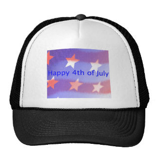 Happy 4th of July Always Trucker Hat