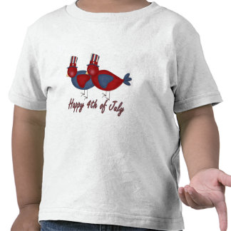 Happy 4th of July Birds T-shirts