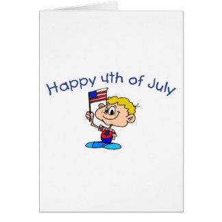 Happy 4th Of July (Boy) Cards