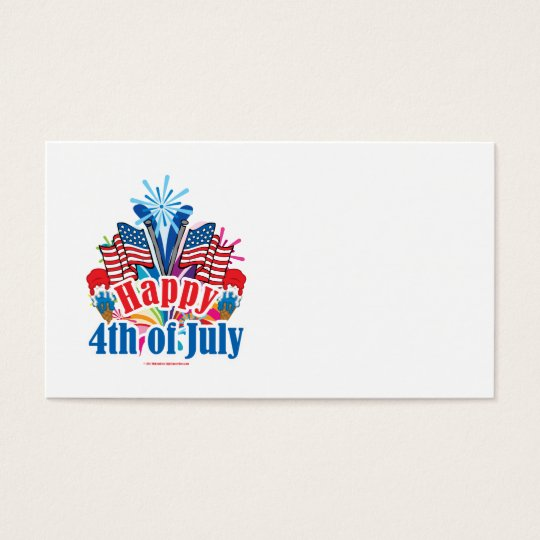 Happy 4th of July Business Card