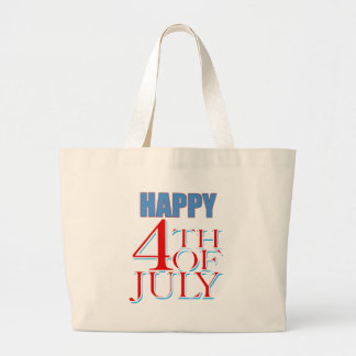 Happy 4th of July Canvas Bag