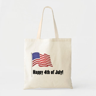 Happy 4th of July Canvas Bags
