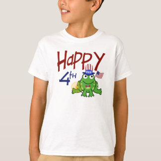 Happy 4th of July Frog T-Shirt