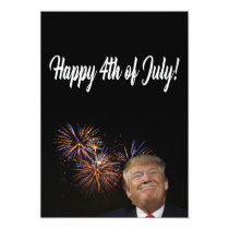 Happy 4th of July from Donald Trump Card