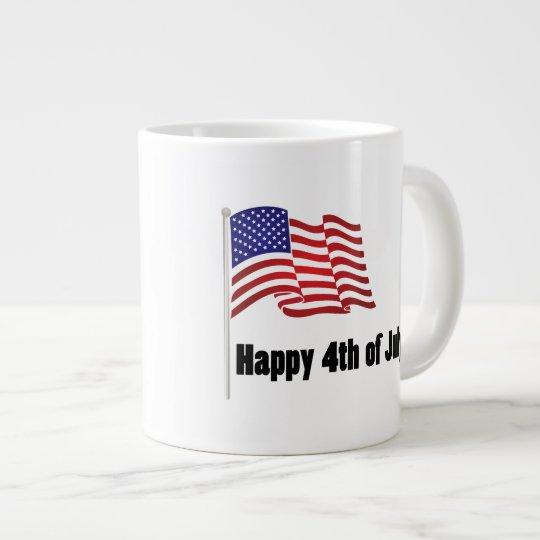 Happy 4th of July Giant Coffee Mug