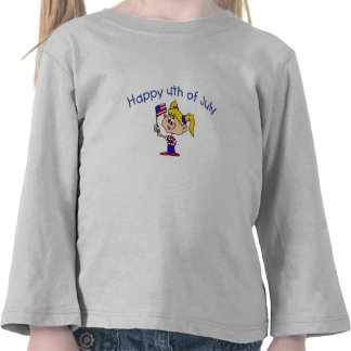 Happy 4th Of July (Girl) T Shirts