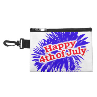 Happy 4th of July Graphic Logo Accessory Bag