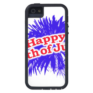 Happy 4th of July Graphic Logo iPhone SE/5/5s Case