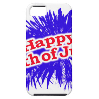 Happy 4th of July Graphic Theme iPhone SE/5/5s Case
