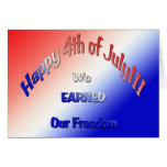 Happy 4th of July!!! Greeting Card