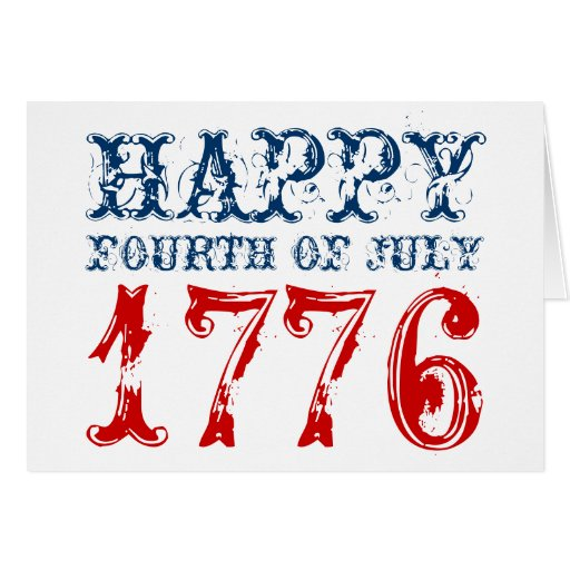 Happy th of july greeting cards usa zazzle