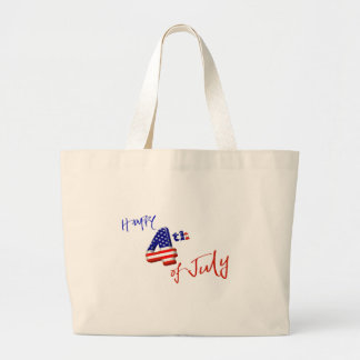 Happy 4th of July, Happy Independence day Tote Bags