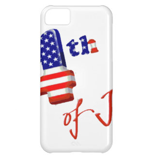 Happy 4th of July, Happy Independence day iPhone 5C Cover