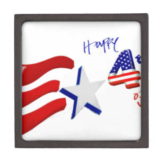 happy 4th of July, Happy independence day Premium Gift Box