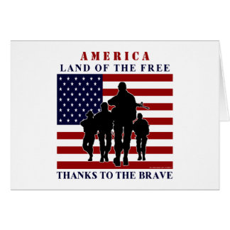 Happy 4th of July - Independence Day Greeting Card