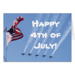 Happy 4th of July Independence Day Greeting Card
