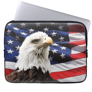 Happy 4th of July Independence Day Neoprene Laptop Laptop Sleeve
