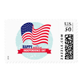 Happy 4th of July - Independence Day Postage
