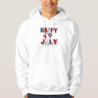 Happy 4th of July Independence Hoodie
