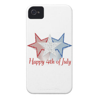 Happy 4th of July iPhone 4 Case