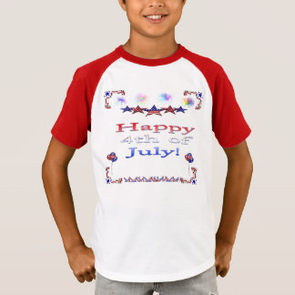 Happy 4th of July Kid's T-Shirt