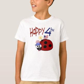 Happy 4th of July Ladybug T-Shirt