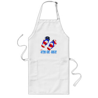 Happy 4th Of July Long Apron