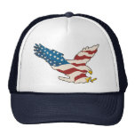HAPPY 4TH OF JULY MESH HATS