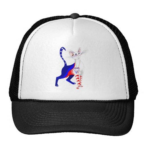 happy 4th of july mesh hats