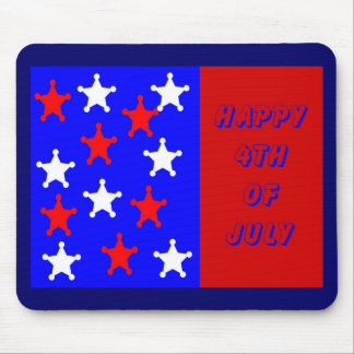 Happy 4th of  July Mouse Pad