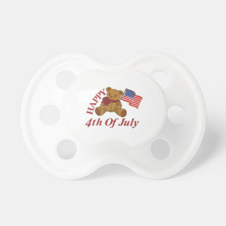 Happy 4th Of July Pacifier