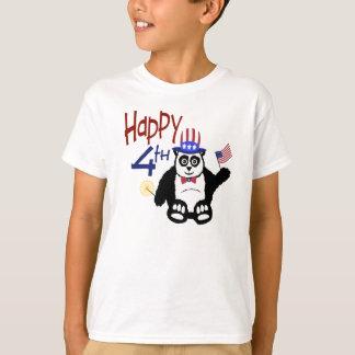Happy 4th of July Panda T-Shirt