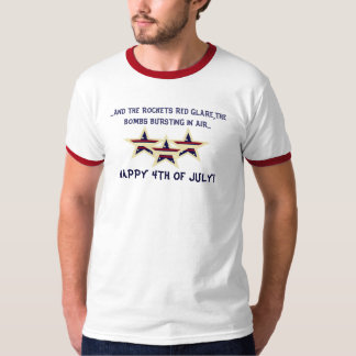 HAPPY 4TH OF JULY PATRIOTIC T-SHIRT