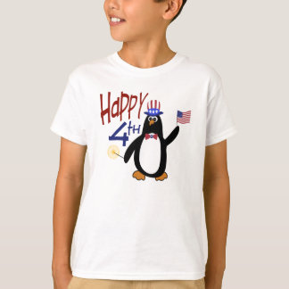 Happy 4th of July Penguin T-Shirt