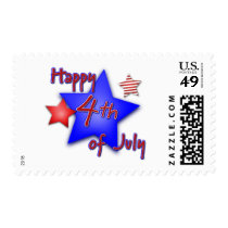 Happy 4th of July Postage