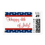 Happy 4th of July! Postage Stamp