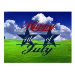 Happy 4th of July Postcard