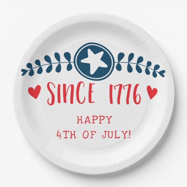 Happy 4th of July | Since 1776 - Patriotic