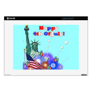 Happy 4th Of July Laptop Skins