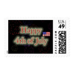 Happy 4th Of July Stamps