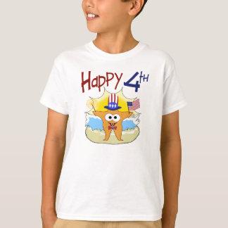 Happy 4th of July Starfish T-Shirt