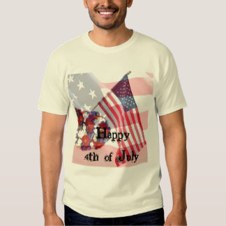 Happy 4th of July Tee Shirt