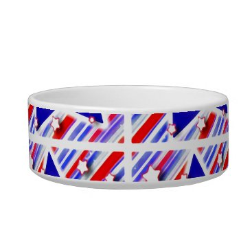 USA Themed Happy 4th of July Theme Pattern Bowl